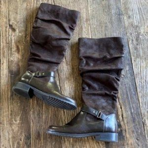 A2 Aerosoles Ride With Me Brown Boots Size 6.5
